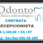 Contrata-se Recepcionista odontológico, Veja abaixo os requisitos.