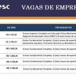 Estão aberta 90 vagas de emprego no SESC – Veja abaixo as informações.