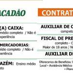 ATACADÃO ABRE 180 VAGAS DE EMPREGOS , VAGAS ABERTAS!